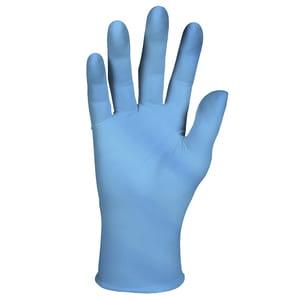 Image of KLEENGUARD Niebieskie nitrylowe rękawice G10 rozmiar 7 (S)