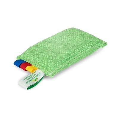 Image of GreenSpeed Diamentowa Gąbka Splinky Zielona 9 X 15 cm